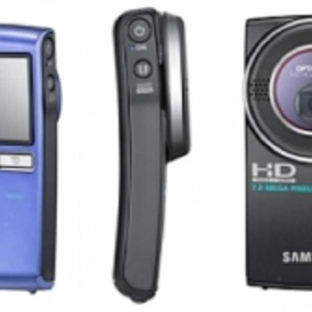 Samsung HMX-U20 en HMX-U15 Full HD Camcorders