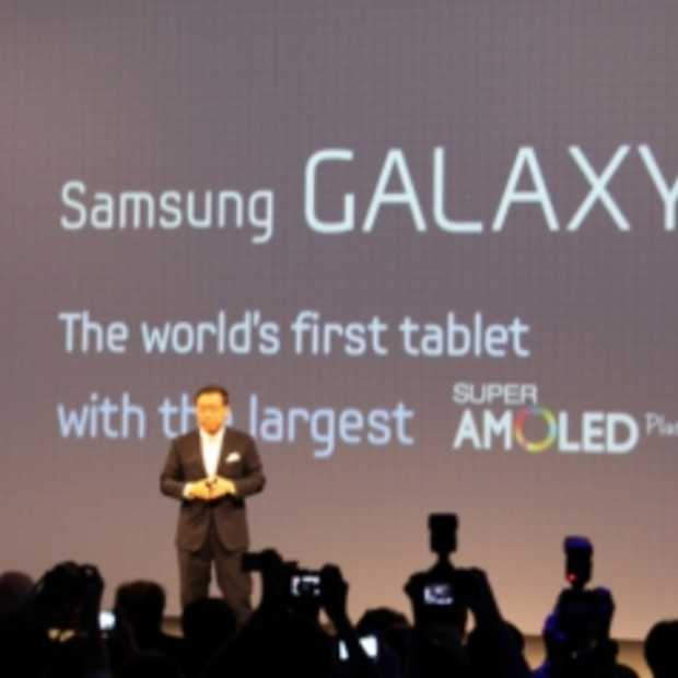Samsung introduceert Galaxy Tab 7.7