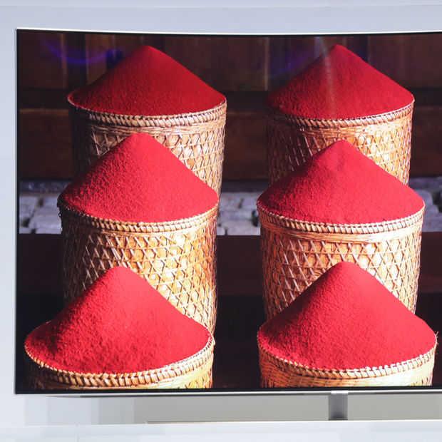 CES 2017: Samsung's QLED tv's zijn kleurecht, scherp en strak
