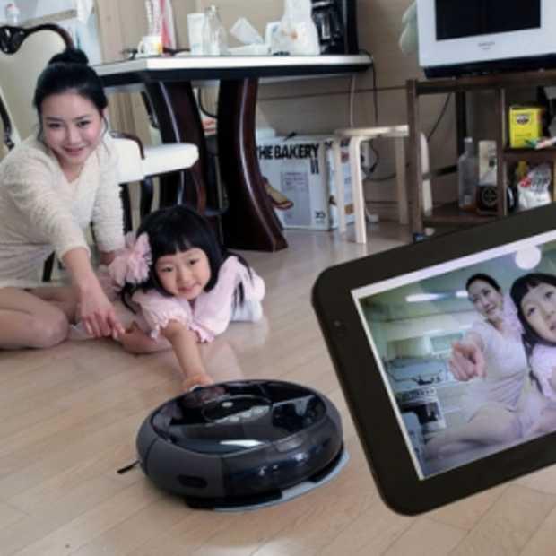 Samsung Tango Robot stofzuiger met Webcam
