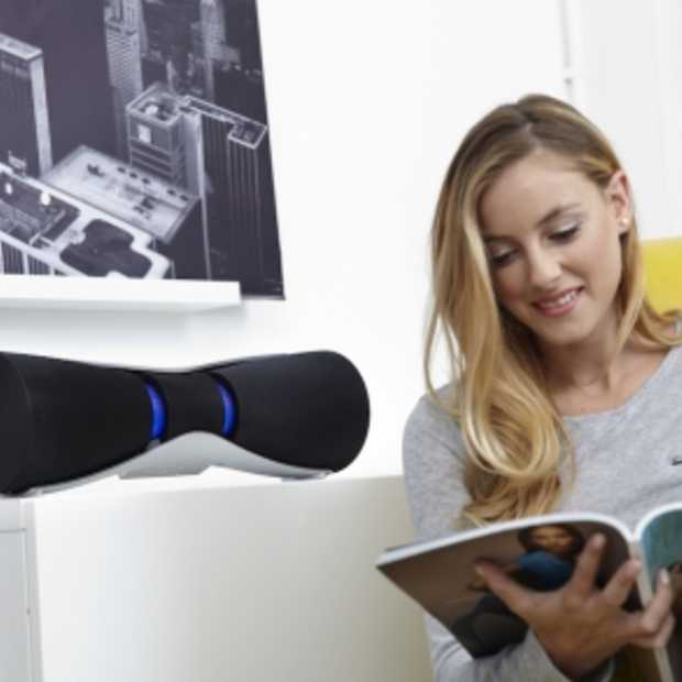Sharp introduceert futuristische draadloze Bluetooth-speaker