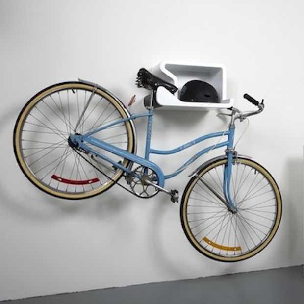Shelfie: stijlvol je fiets ophangen!