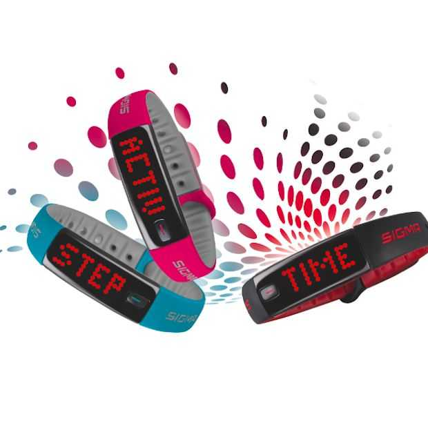 Ook Sigma Sport start 2015 met wearable!