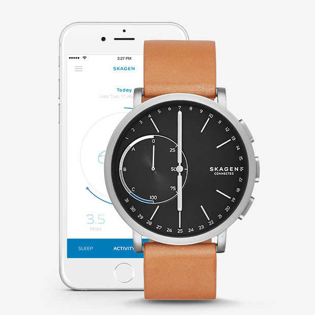 Skagen Hagen connected watch: wel slim zonder op te hoeven laden