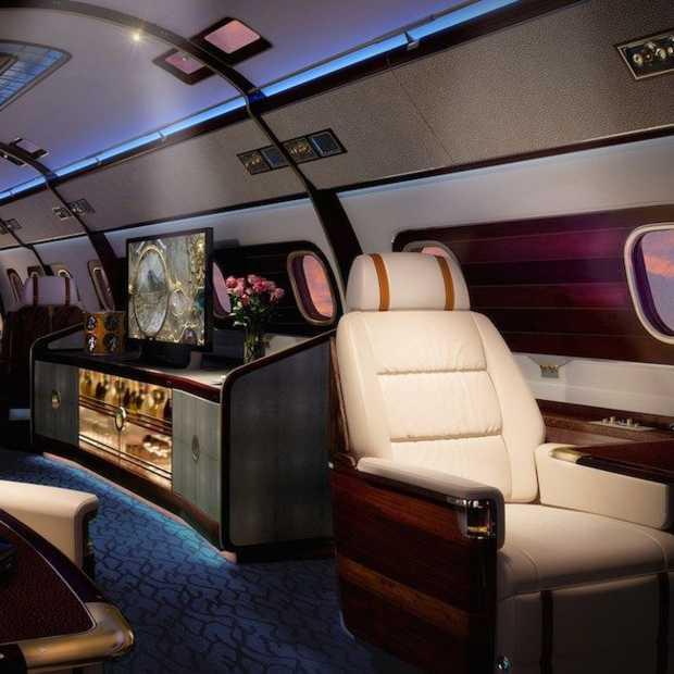 Dit is het meest luxe vliegtuig dat je ooit gezien hebt!