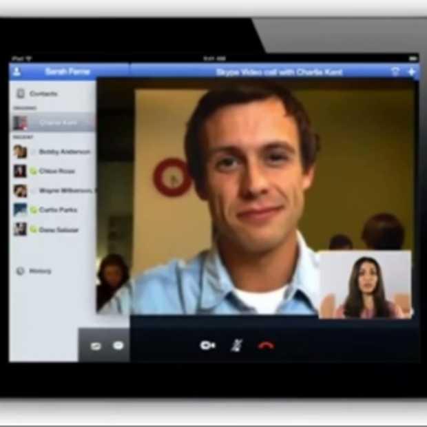 Skype voor iPad komt eraan