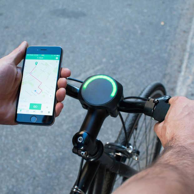 Slim navigatiesysteem voor je fiets: SmartHalo