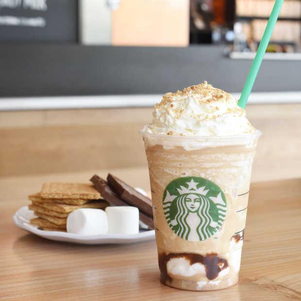 Nieuw bij Starbucks: S'Mores Frappuccino