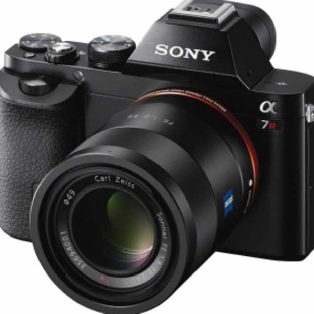 Sony introduceert α7 en α7r 35mm full-frame camera's
