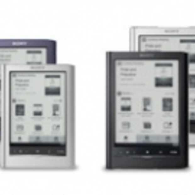 Sony introduceert nieuwe eReaders