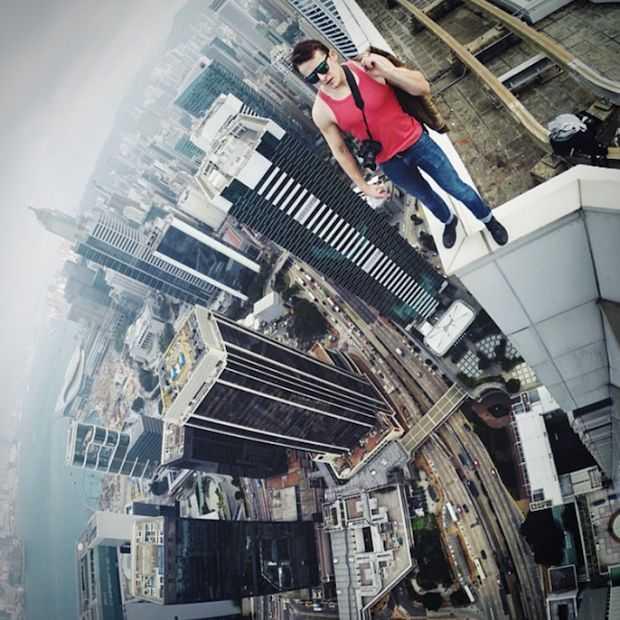 Als Spiderman Instagram zou hebben dan zag het er zo uit!