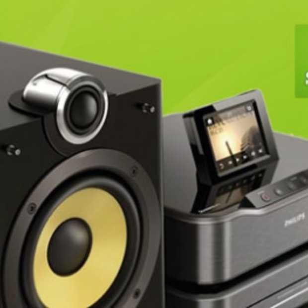 Spotify nu ook op Philips Streamium HiFi assortiment