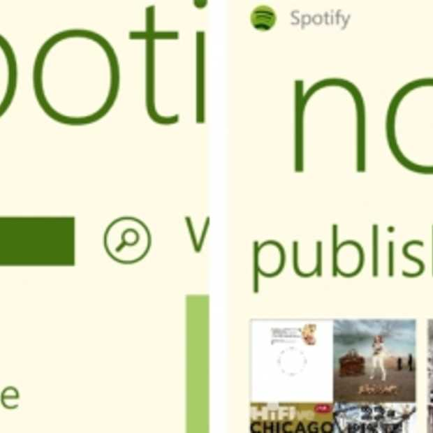 Spotify nu op Windows Phone 7