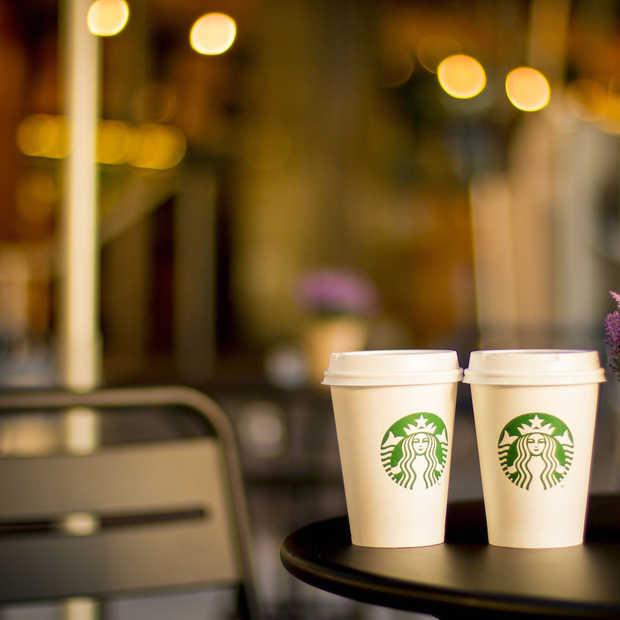 Je kunt nu dineren bij Starbucks!