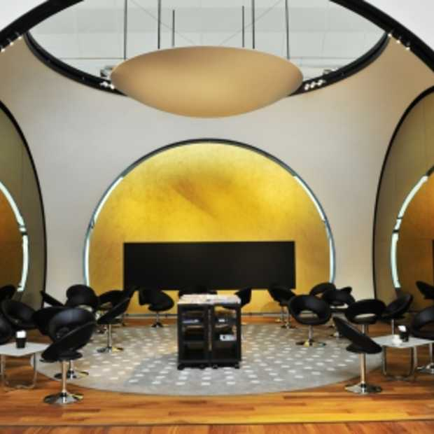 Stijlvolle lounge op Ataturk Airport