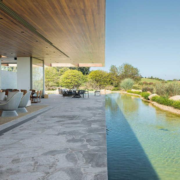 Casa MS: transparante villa in Brazilië