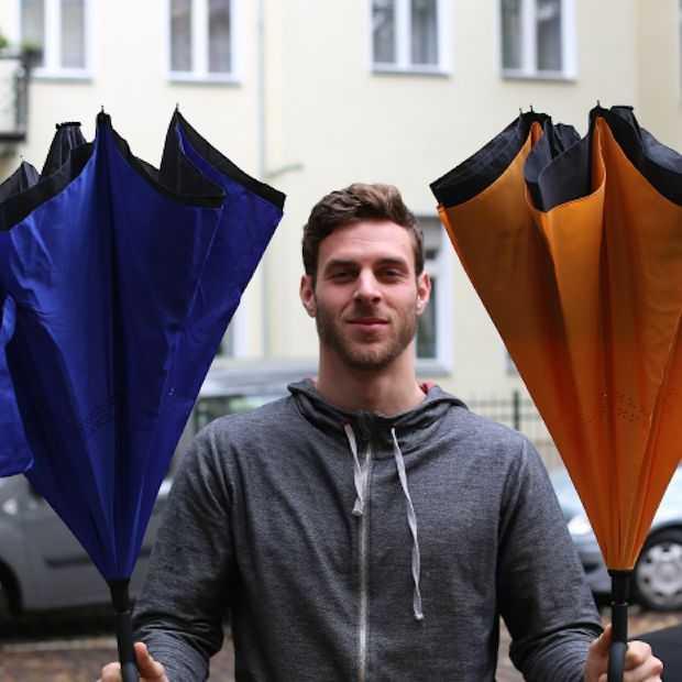 Suprella Pro: de paraplu die andersom openklapt