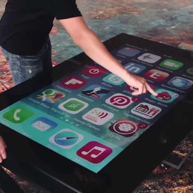Tableconnect: de tafel die je aansluit aan je telefoon!