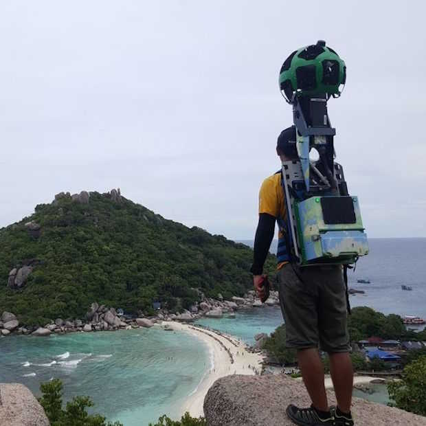 Man legt 500.000 kilometer af voor Google Street View