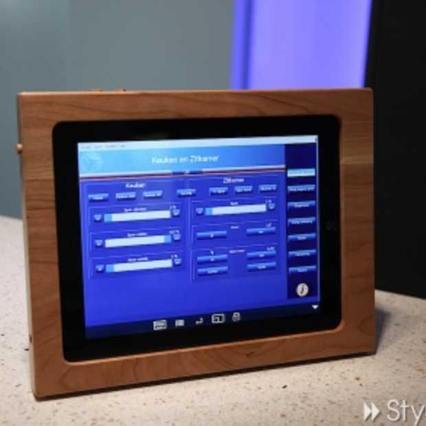 TimberTab: De iPad houder voor Domotica-huizen