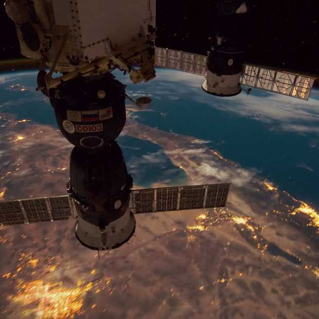 Geweldige video: timelapse vanuit International Space Station