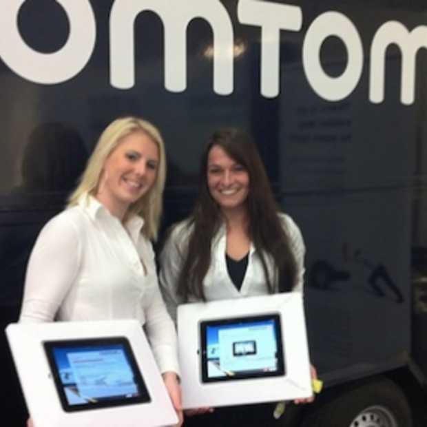TomTom App voor de iPad