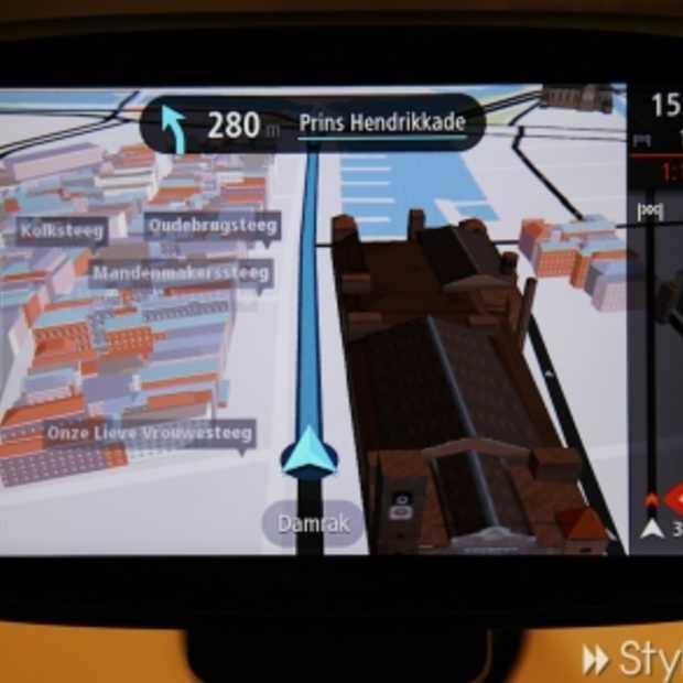 TomTom GO met 3D kaarten