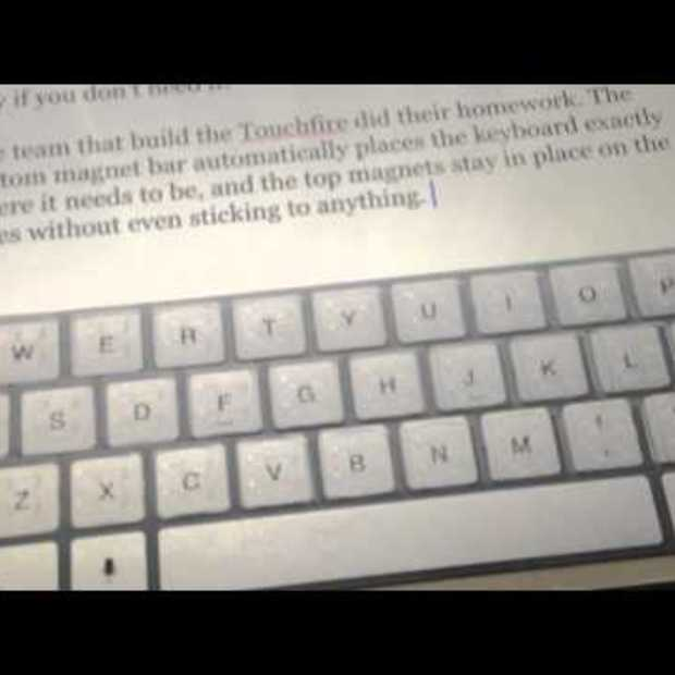 Touchfire Keyboard Review