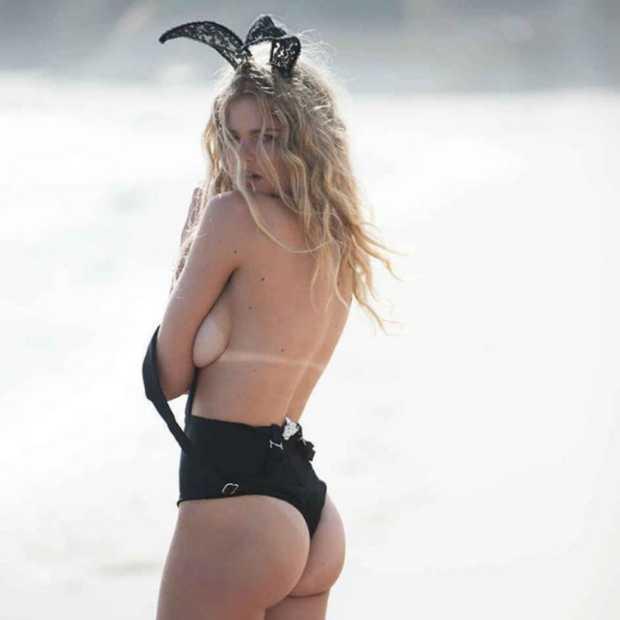 Valerie van der Graaf is Miss August 2016 in Playboy