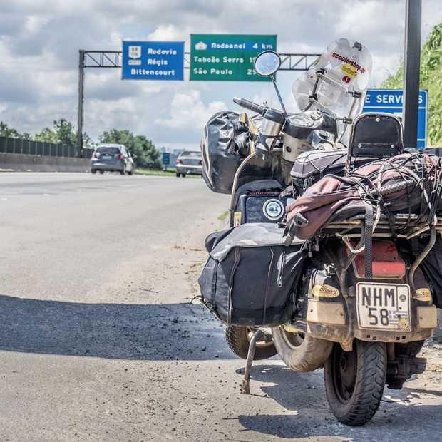Een wereldreis op de Vespa: 27 landen en 60.000 km
