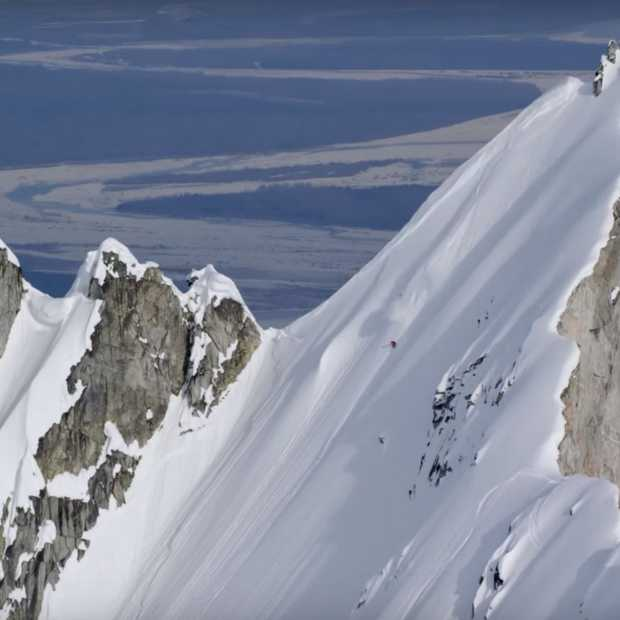 Bizar wat Angel Collinson op ski's kan!