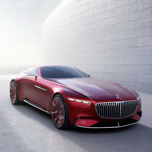 Vers van de pers: Vision Mercedes-Maybach 6