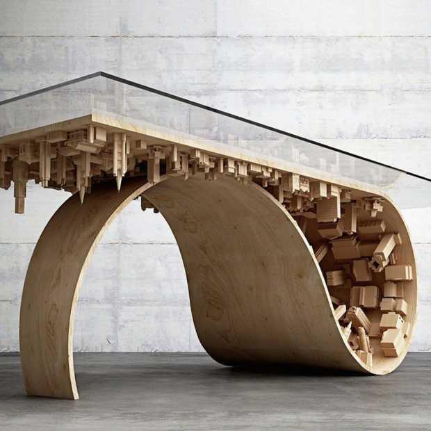 Dit is de meest unieke tafel die je ooit hebt gezien