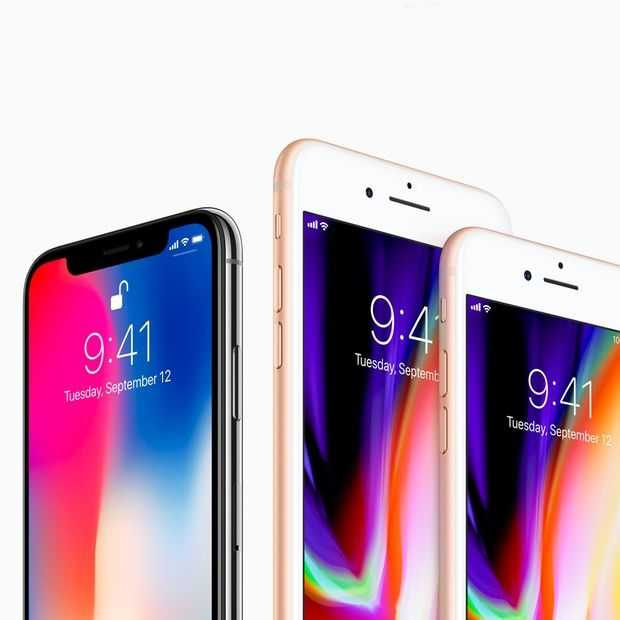 Welke nieuwe iPhone is het beste voor jou: 8, 8 Plus of toch de X?