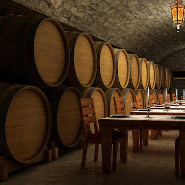 Wijnkelder op 4 hoog!