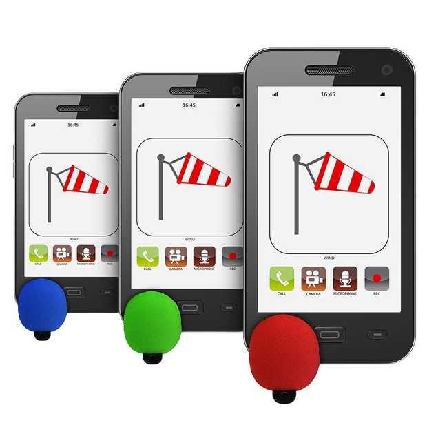 Windblocker maakt bellen en filmen met smartphone zonder ruis mogelijk