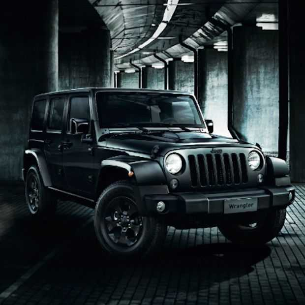Jeep lanceert nieuwe Jeep Wrangler Black Edition II