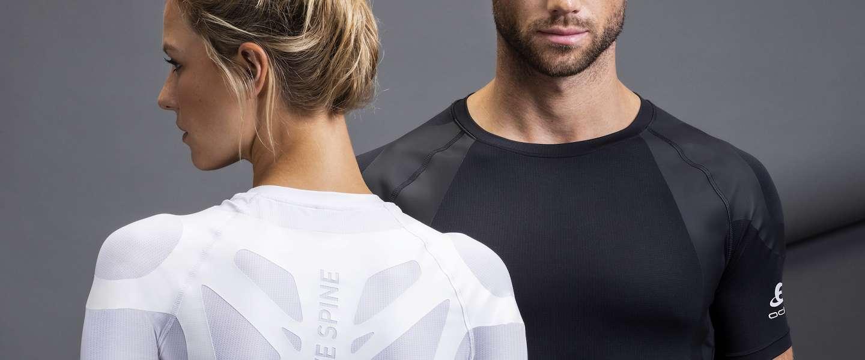 De Odlo Active Spine shirts verbeteren je houding
