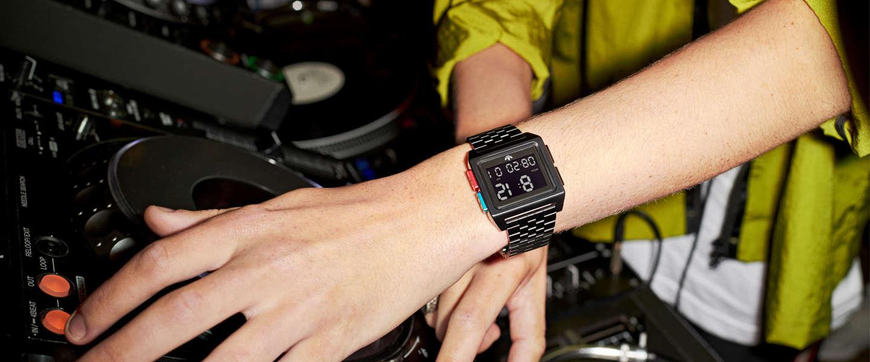 Adidas showt nieuwe collectie horloges