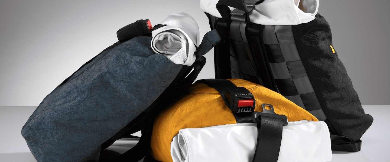 Airpaq: toffe rugtassen van gerecyclede materialen uit auto's