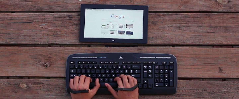 Airtype: het typen zonder toetsenbord of touchscreen!