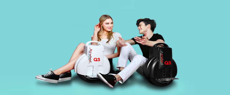AirWheel: de Segway met één wiel en zonder stuur!
