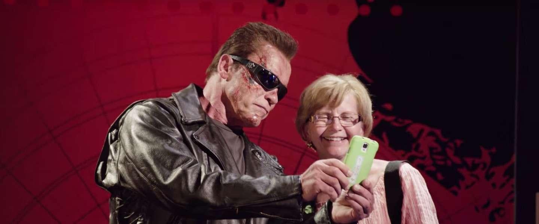 Geslaagde prank van Arnold Schwarzenegger in Madame Tussauds