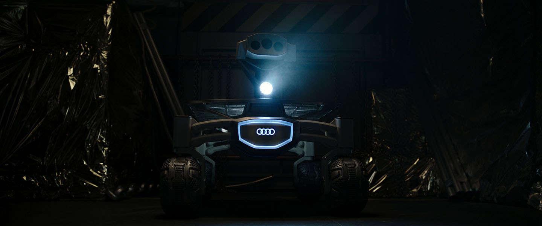Audi lunar quattro te zien in Alien: Covenant