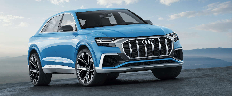Audi toont Audi Q8 concept en nieuwe SQ5 TFSI op Detroit Motor Show