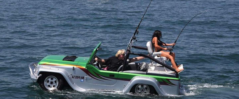 Deze amfibische auto kost 135.000 dollar