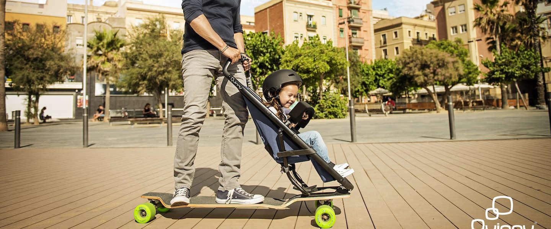 Voor de sportieve ouders: Quinny Longboardstroller
