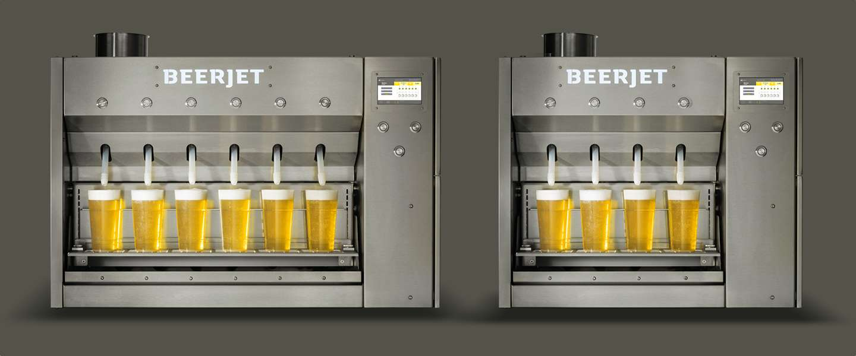 De Beerjet willen we nu hebben: 6 perfecte pinten in 10 seconden