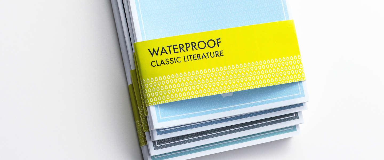Superhandig: waterproof boeken voor in bad