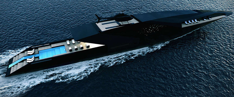Mega luxe: Black Swan Superyacht
